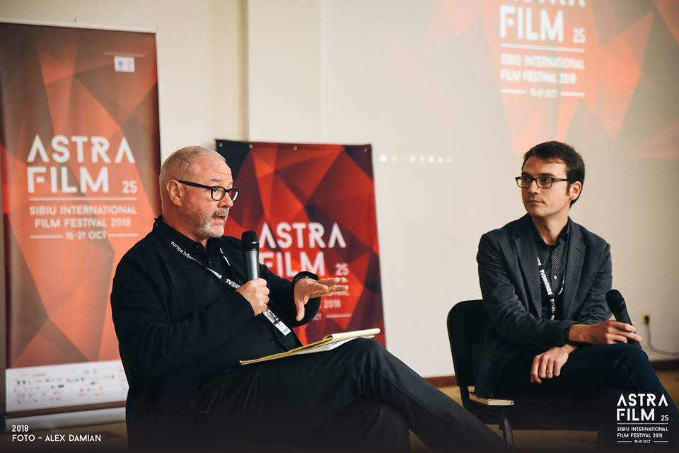 Toma Peiu in conversation with Simon Kilmurry - October 19th, 2018 @ Astra FF Sibiu