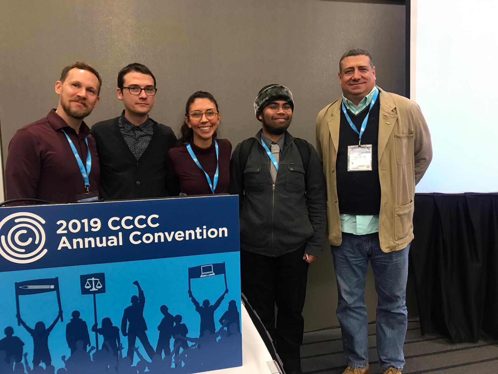 Jordan Hayes, Toma Peiu, Nelesi Rodriguez, Al Harahap, Sid Dobrin - Pittsburgh, PA, March 14th, 2019