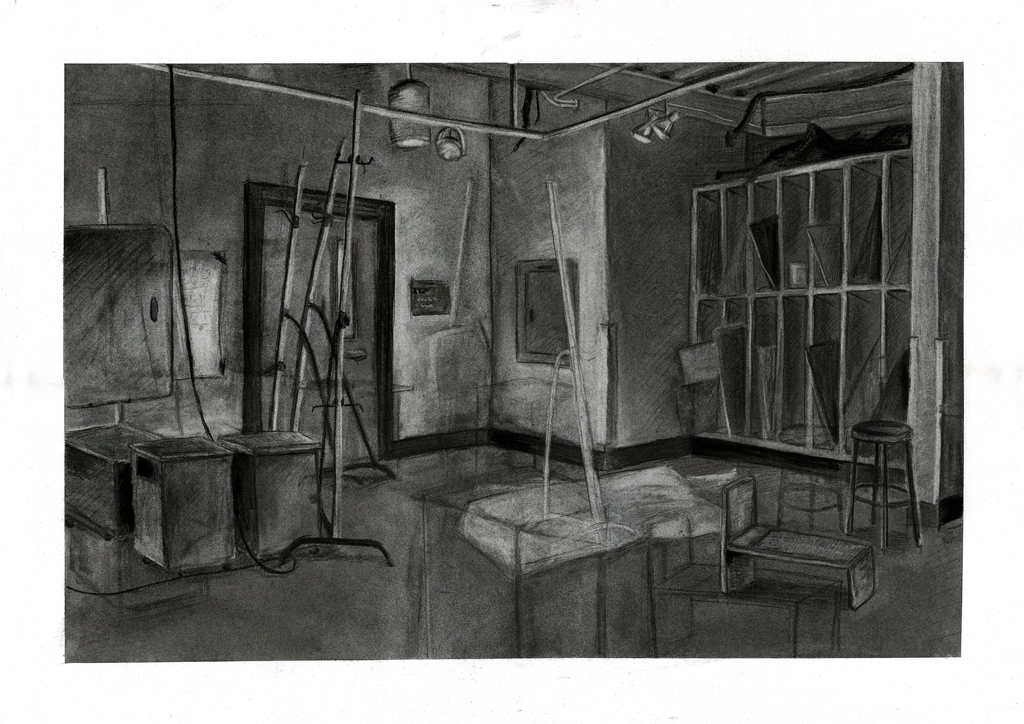 Subtractive/Additive Charcoal 2013
