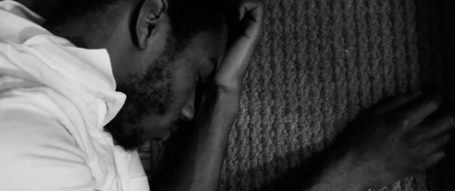 Video Still: On the Ground Sleeping, 2014