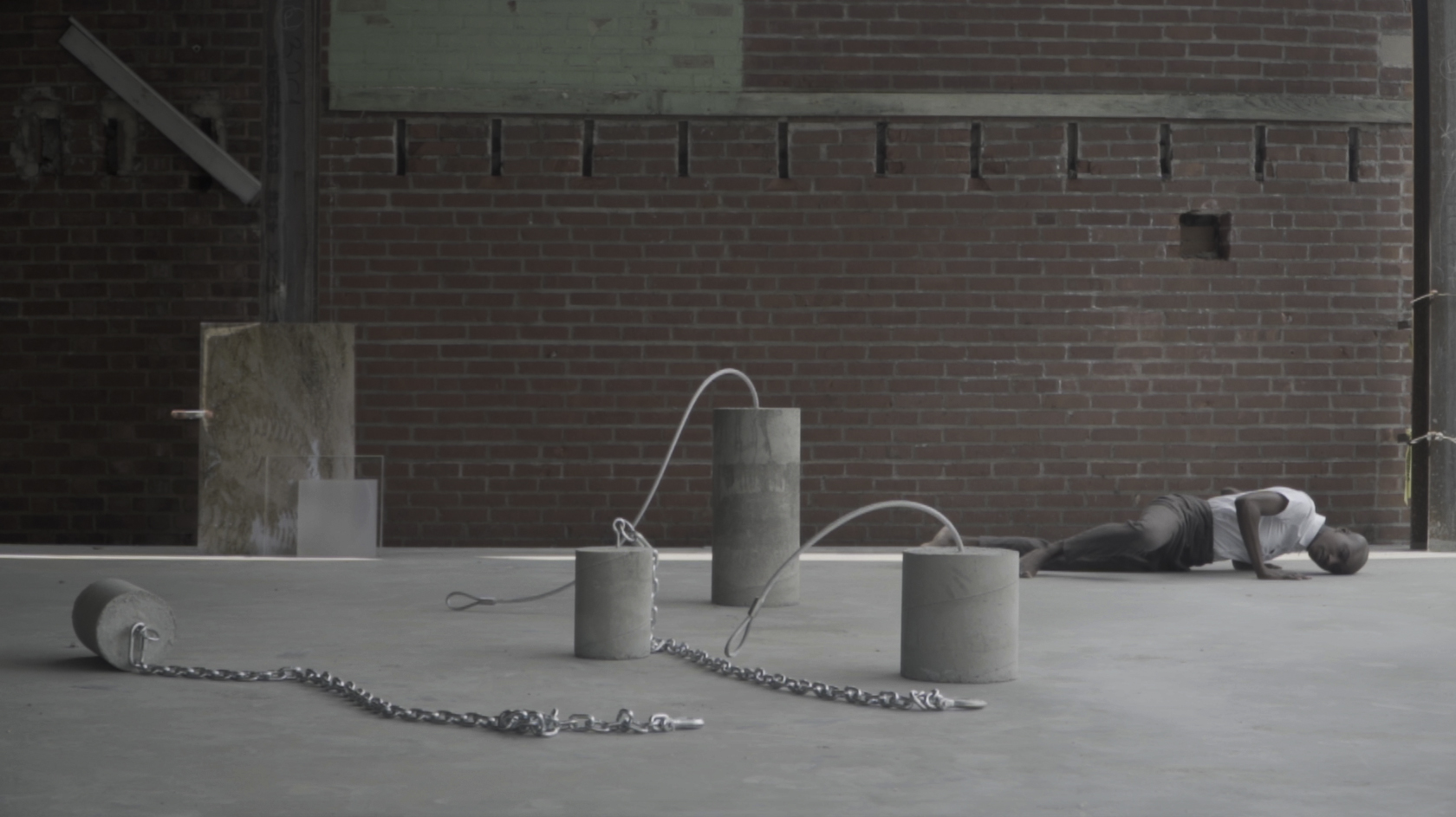 Constructs and Context Relativity: Performance I, 2019. Video Still 02