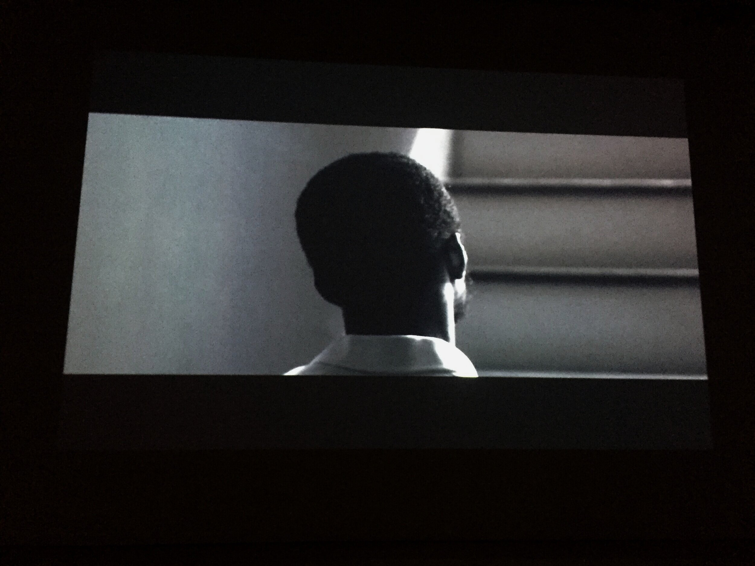Video Still: On the Ground Sleeping, 2014  Untitled #70 screed in EBSPLOITATION, Martos Gallery       Untitled #70 screened in EBSPLOITATION, Martos Gallery