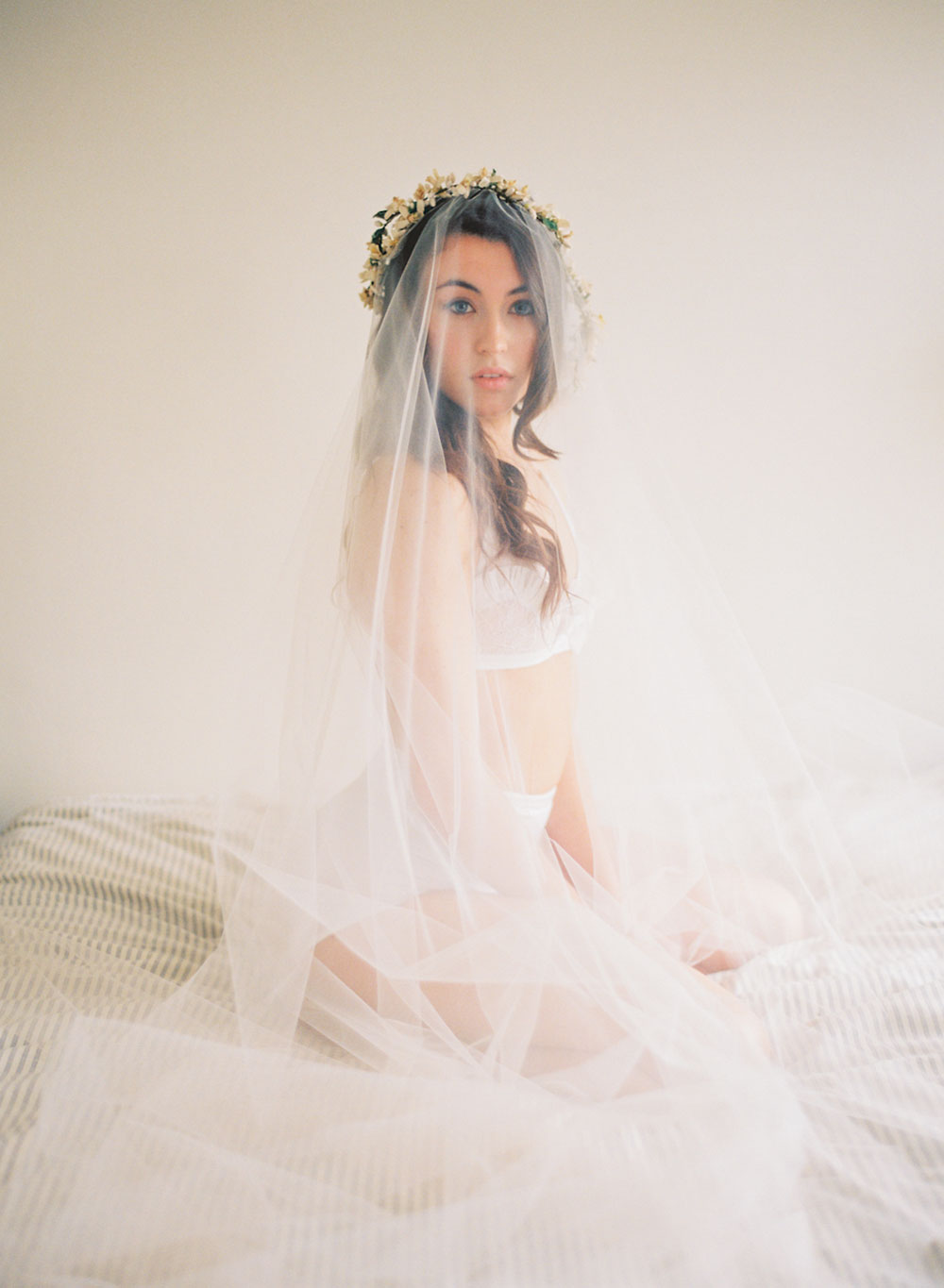 Bridal Boudoir look by Veronica Sheaffer