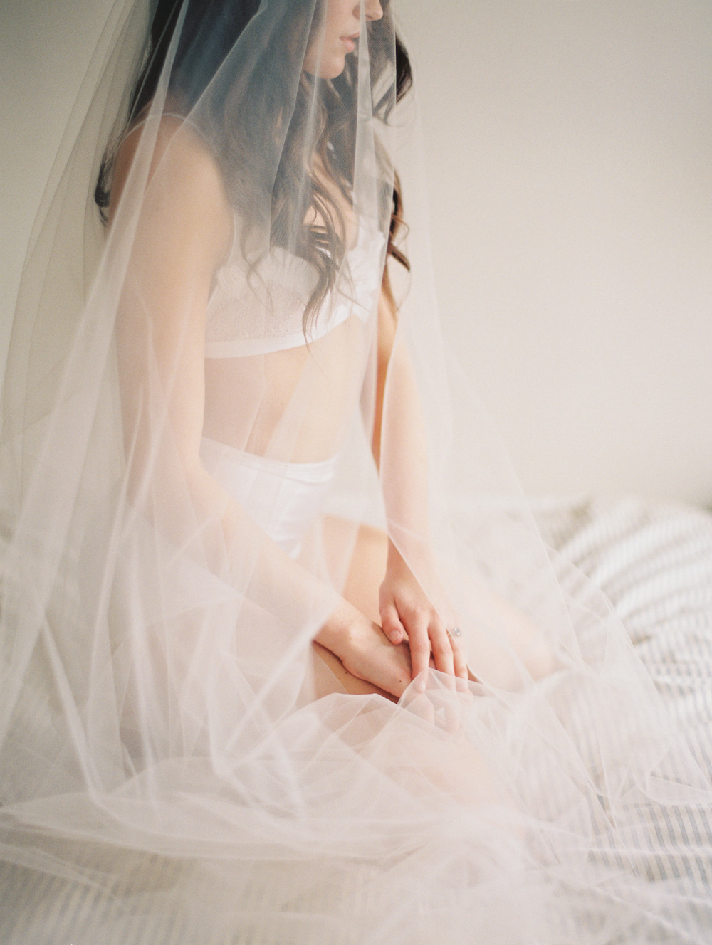 Bridal Boudoir ensemble by Veronica Sheaffer