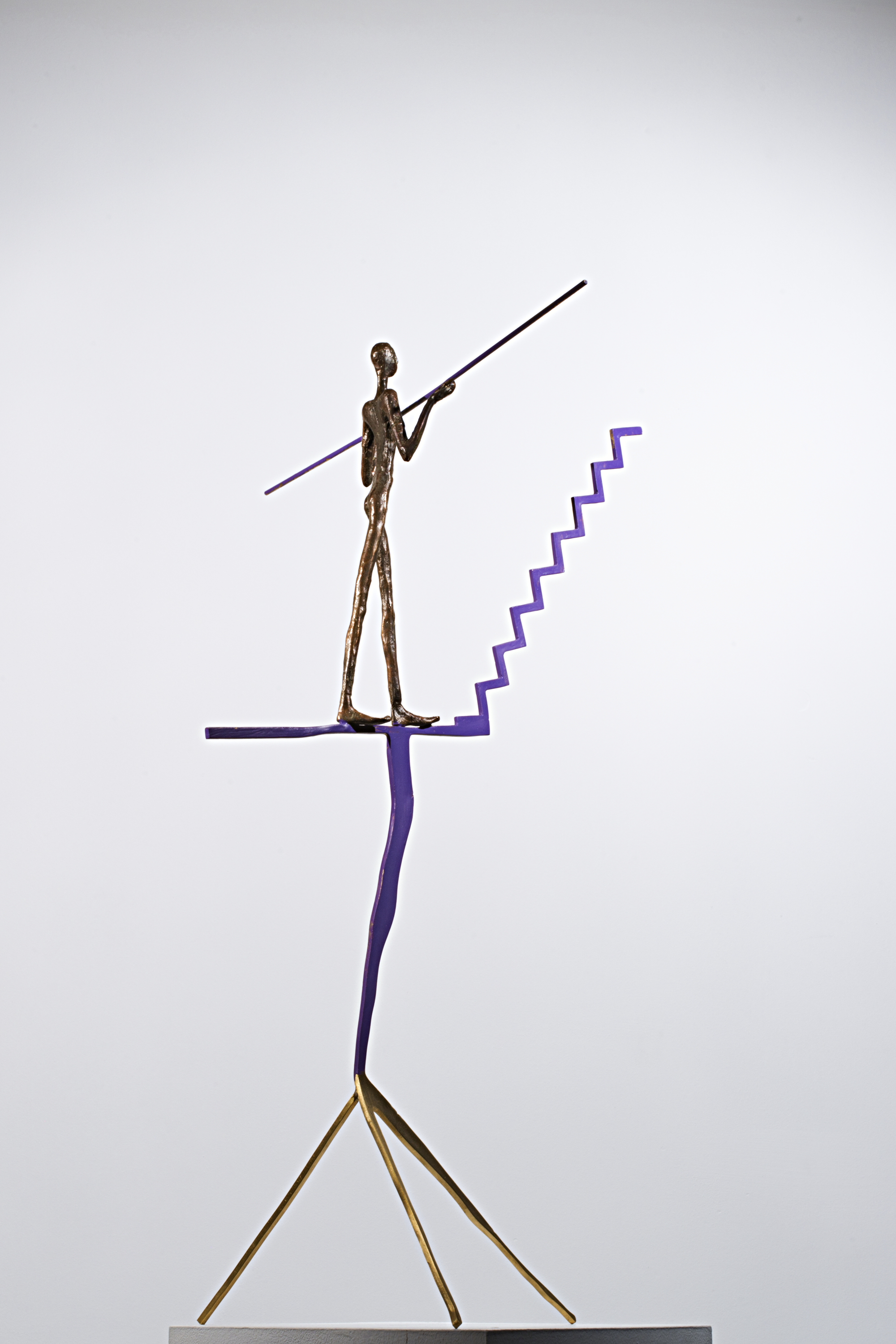 In Search of Balance  Bronze Ed. /30 lost wax 75 x 35 x 25 cm