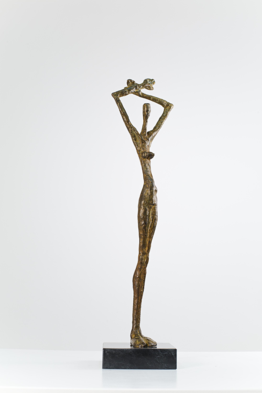 Embracing the World  Bronze Ed. /30 Lost wax 52 x 50 x 15 cm