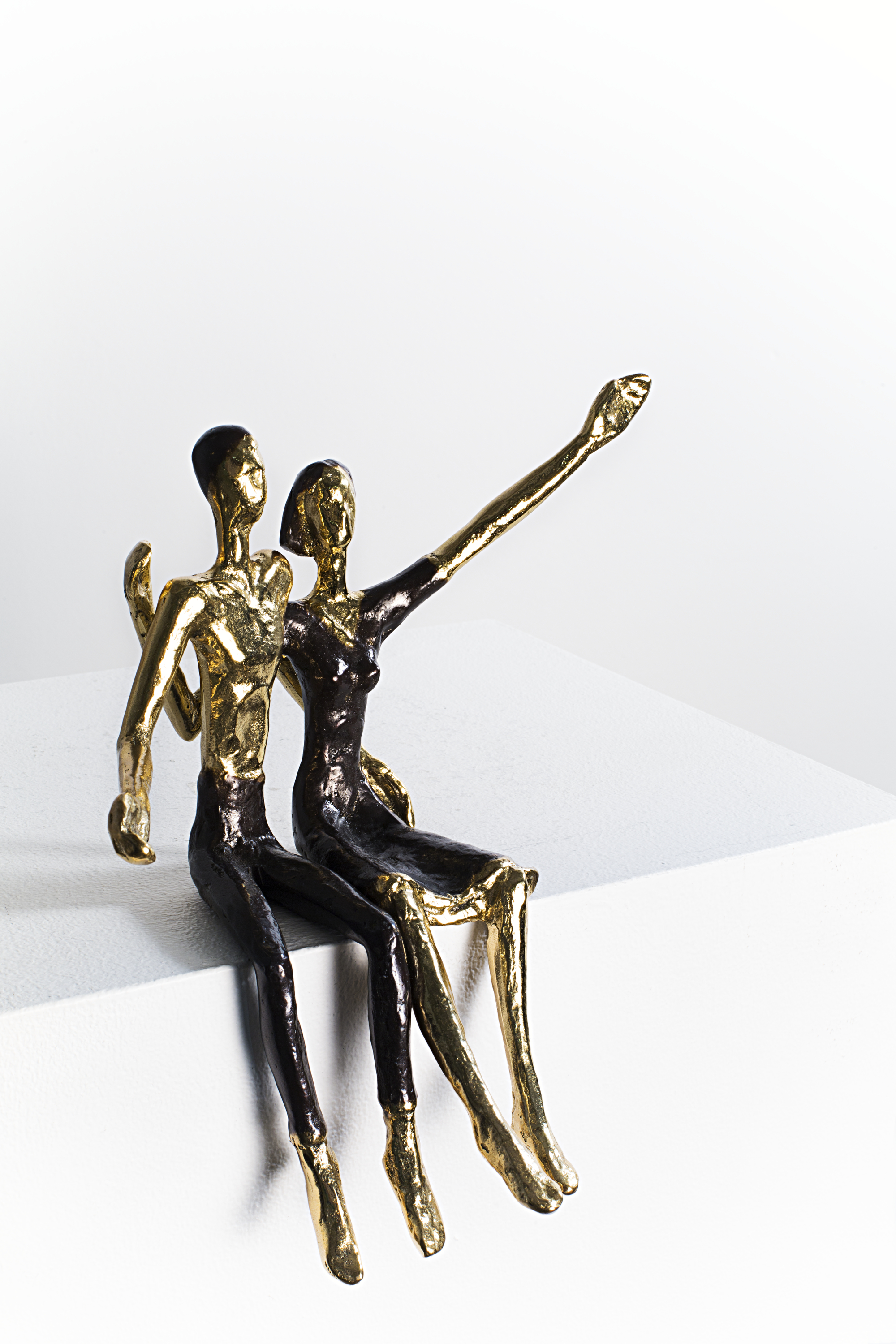 Happiness  Bronze Ed. /250 Lost wax 19 x 19 x 18 cm