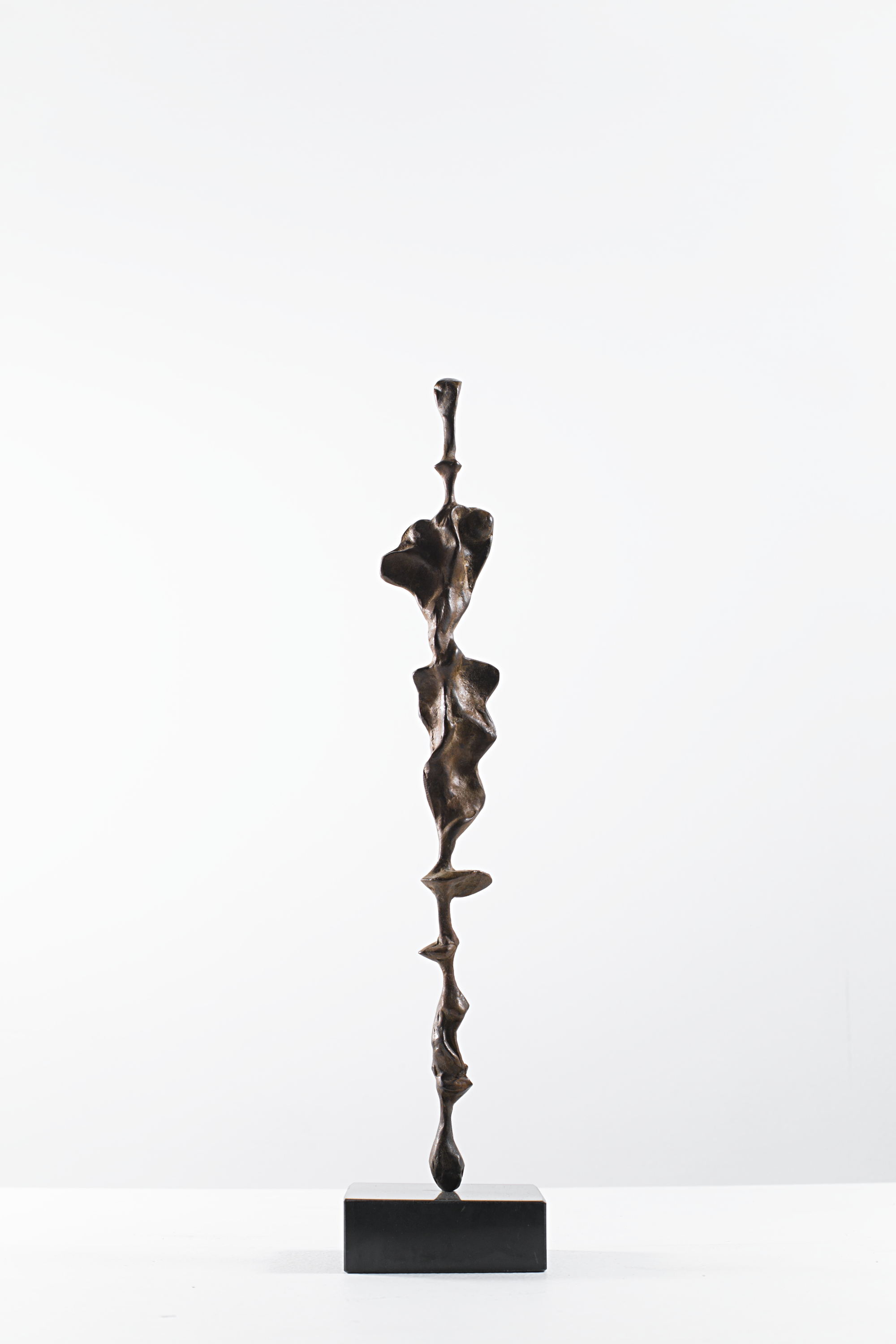The Queen's reflection on Water  Bronze Ed. /30 Sandcast 37 x 8 x 8 cm