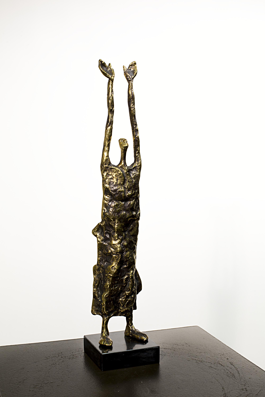 Why me  Bronze Ed. /30 sand casting 67 x 20x 12 cm