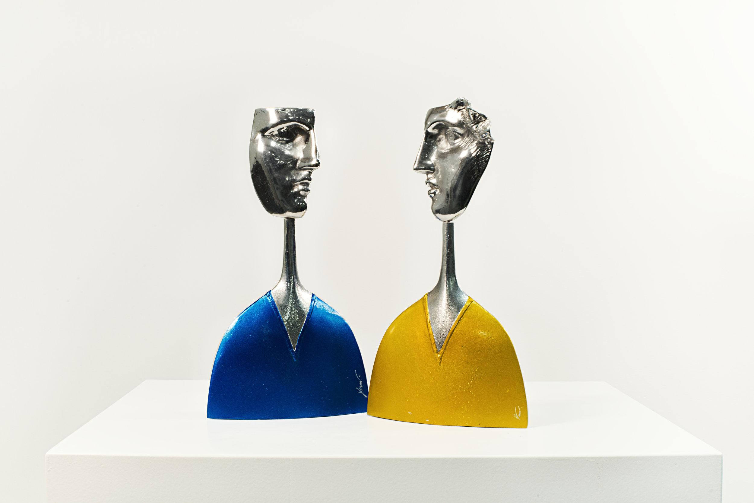 People  Aluminum Ed. /250 Sandcast 27 x 15 x 4 cm
