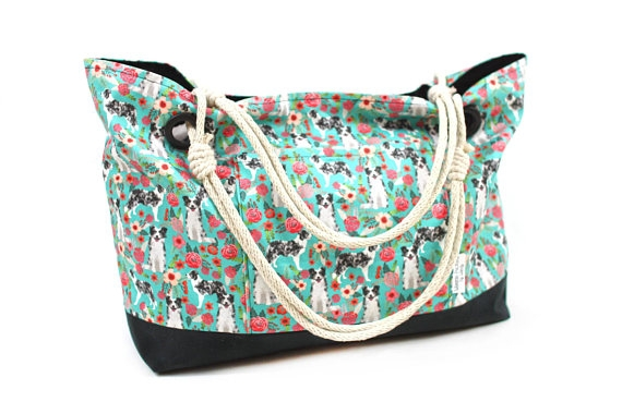 The #dogmomaf beach bag - By Weenie Pockets