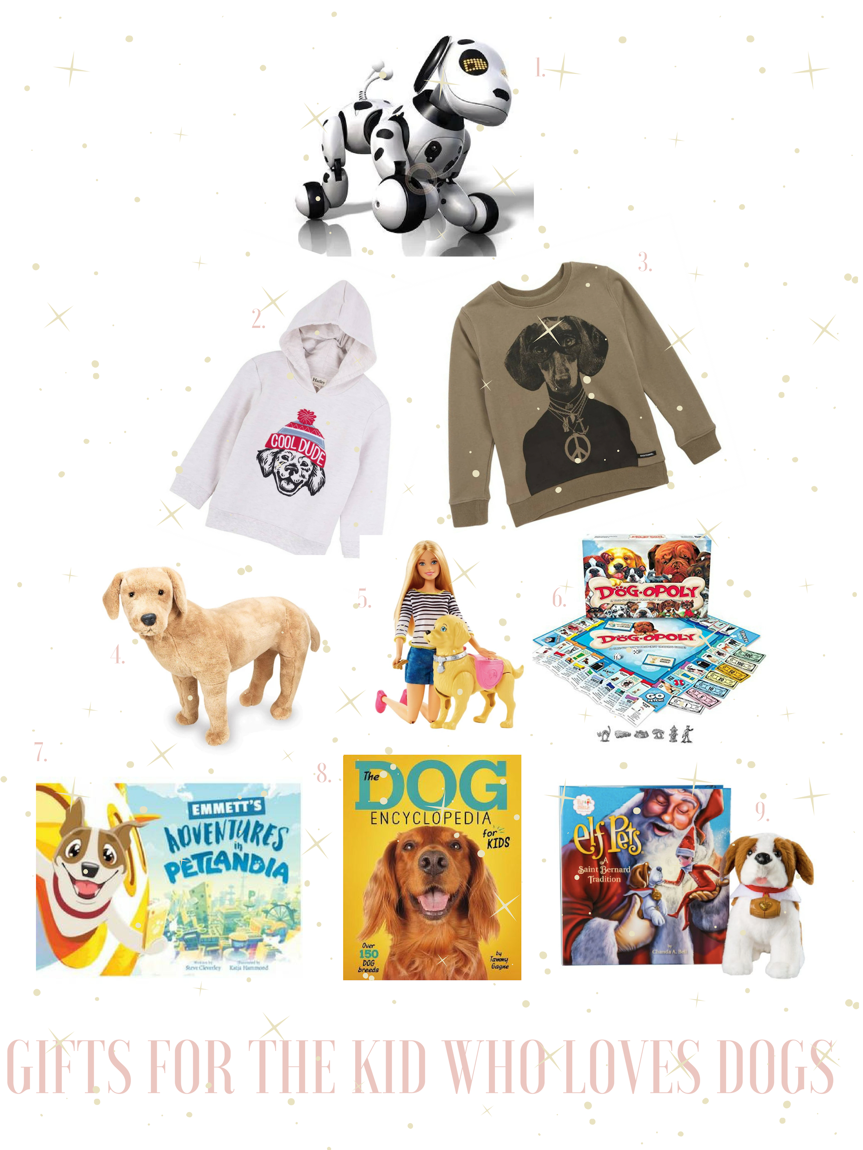 christmas gifts for kids who love dogs gals best friend
