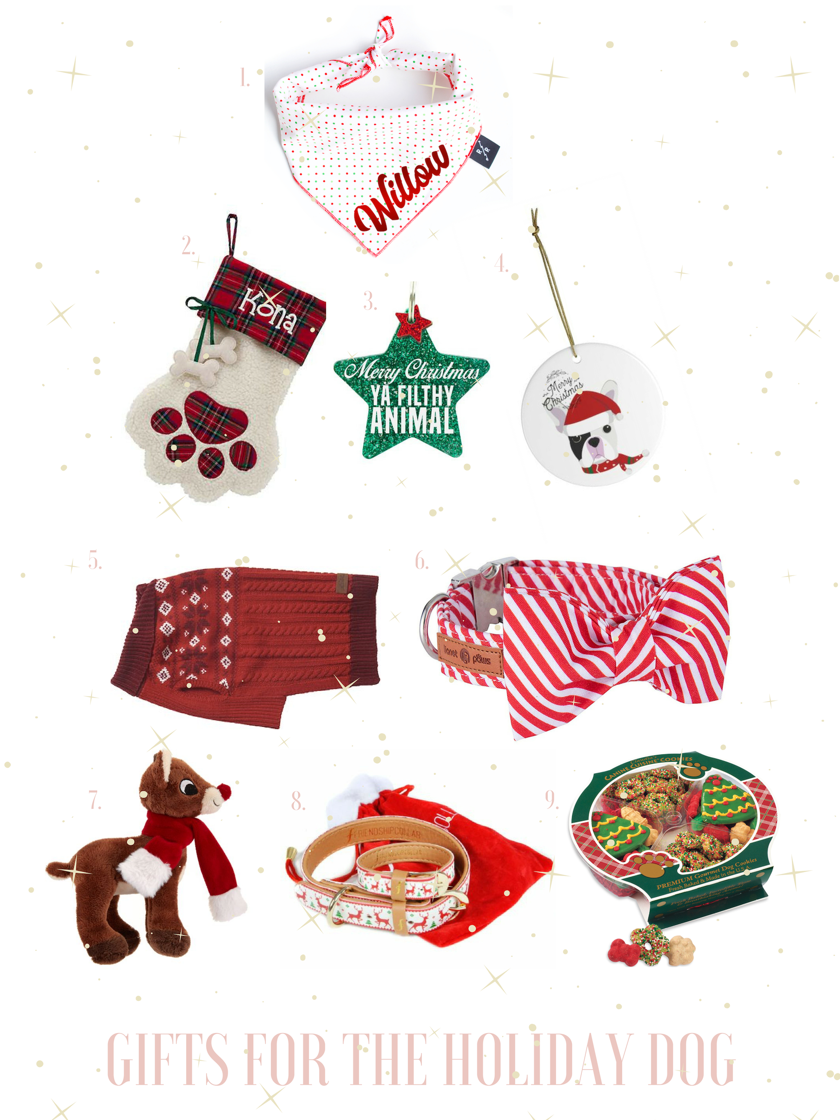 christmas gifts for dog gals best friend