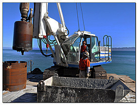Cast-In-Hole Drilled Piles -