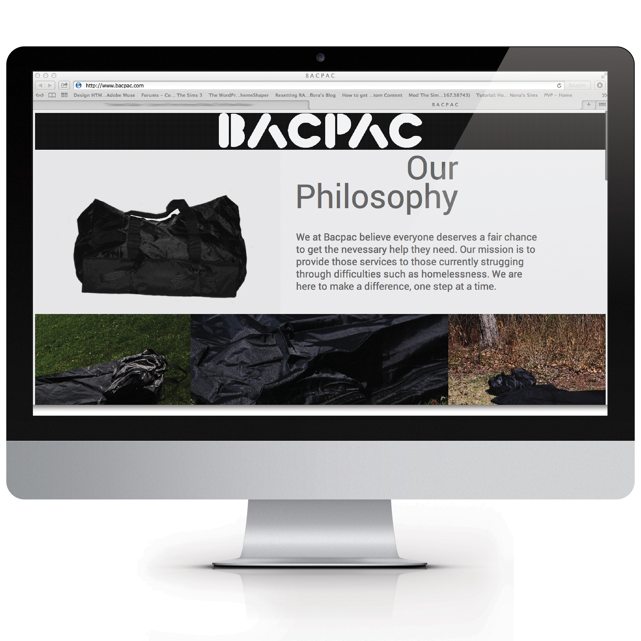 Bacpac - Identity and Branding