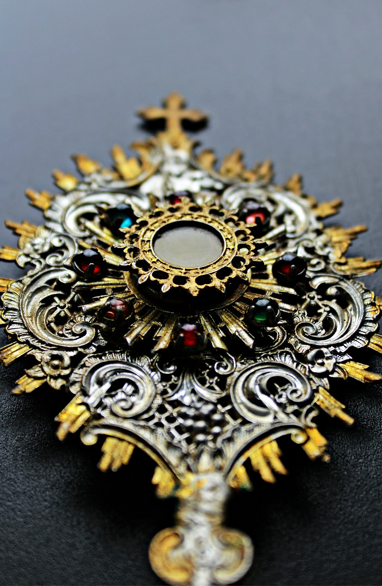 Silver and gold Monstrance