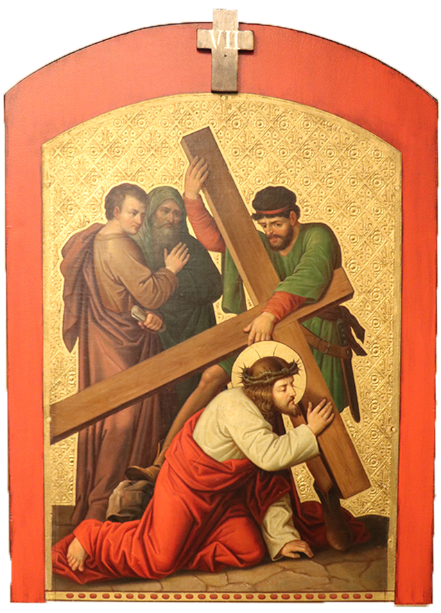 7. Jesus falls for the second time