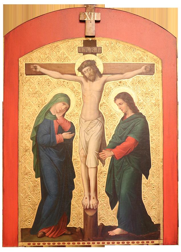 12. Jesus dies on the cross