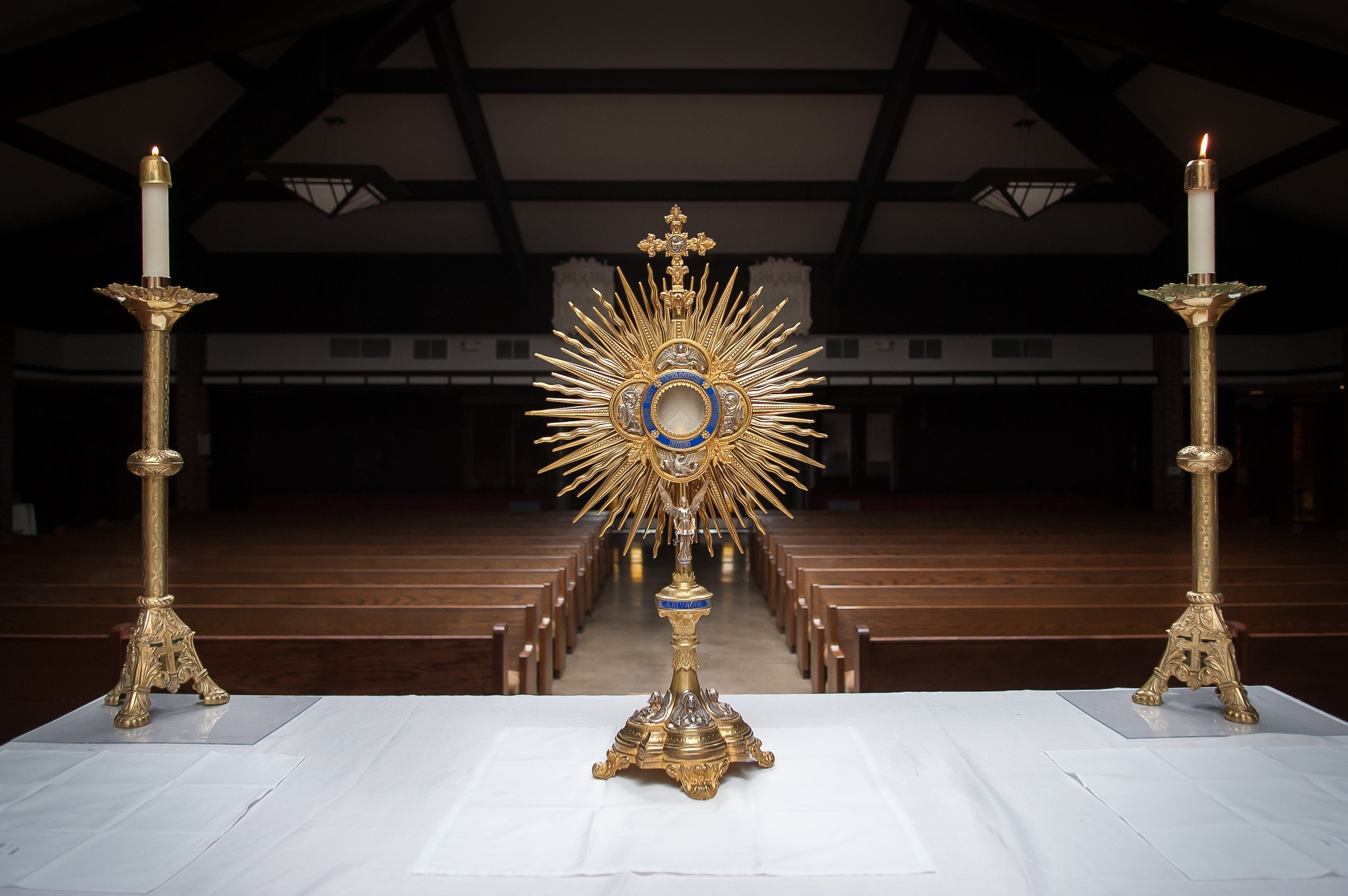 The Monstrance - Eucharistic Adoration