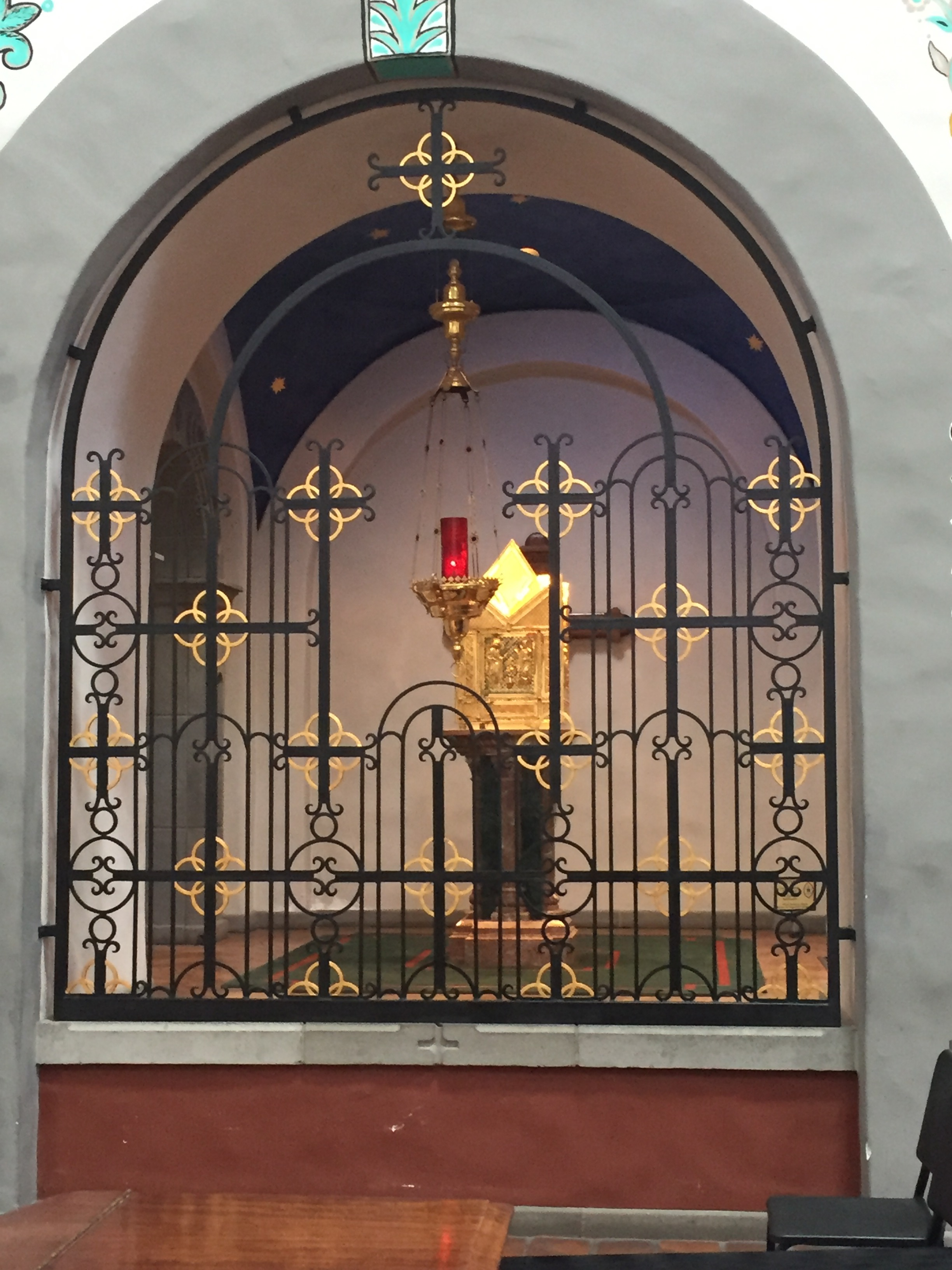 Adoration Chapel at San Juan Capistrano Basilica