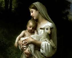 Mary-Jesus-and-Lamb