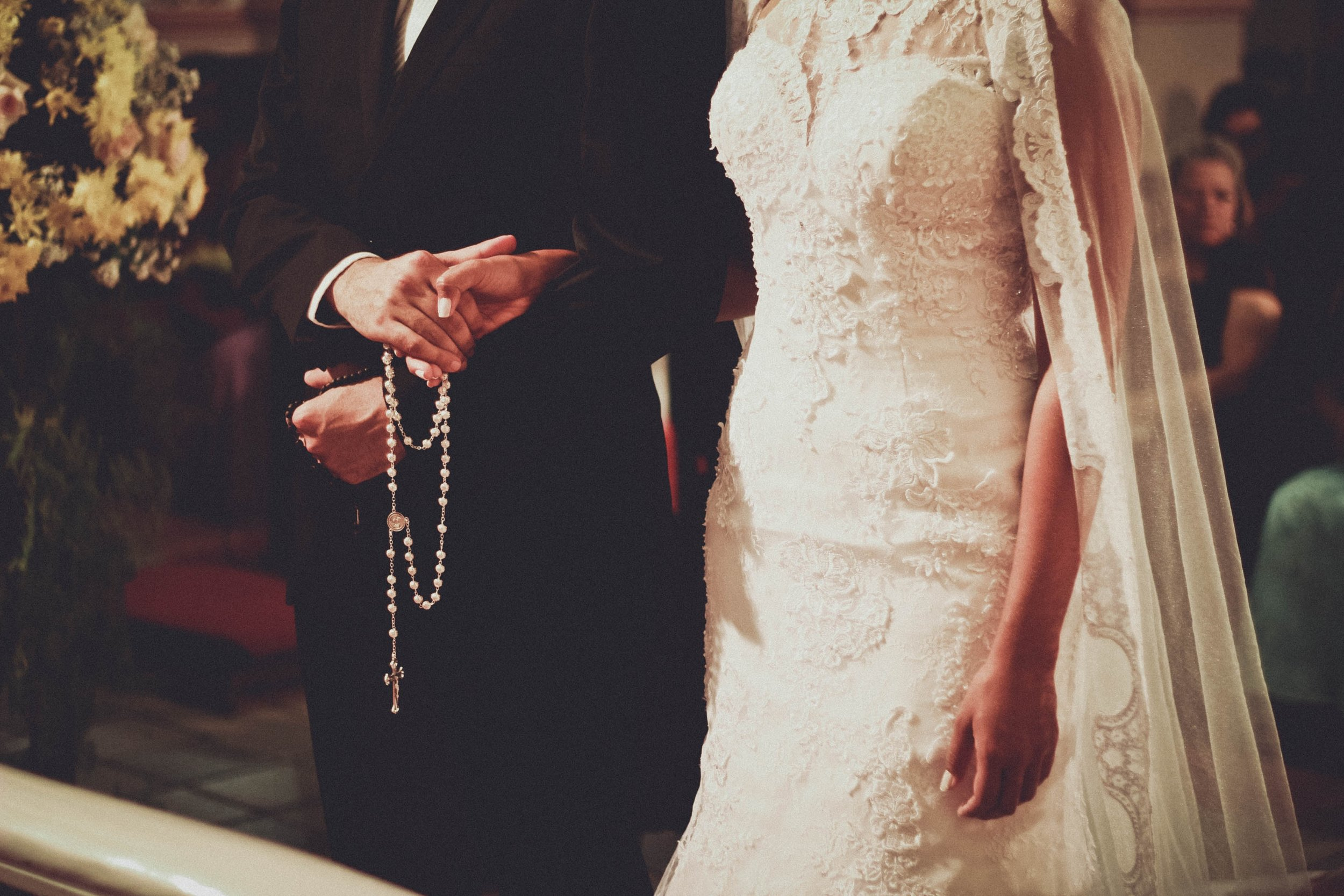Rosary during Wedding Vows