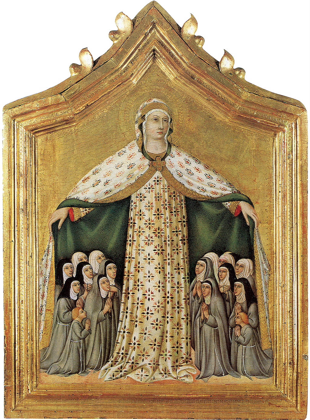 Protection under the Mantle of the Blessed Virgin