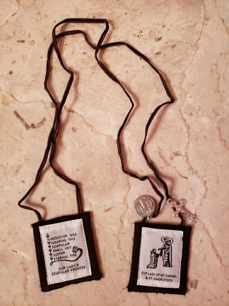 A Brown Scapular
