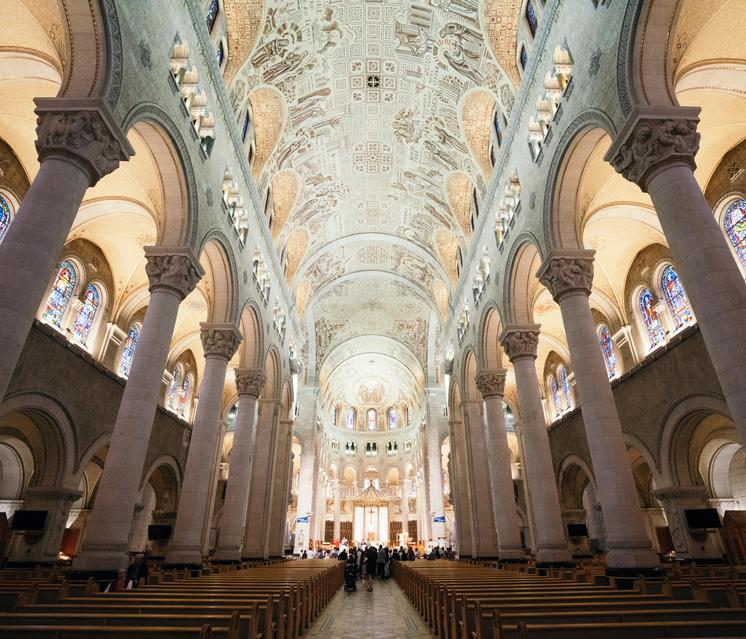 Main Aisle Cathedral