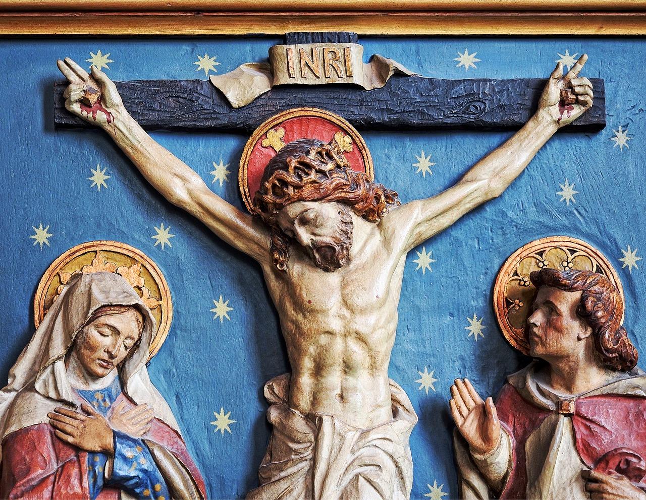 Mary and John at Crucifixion