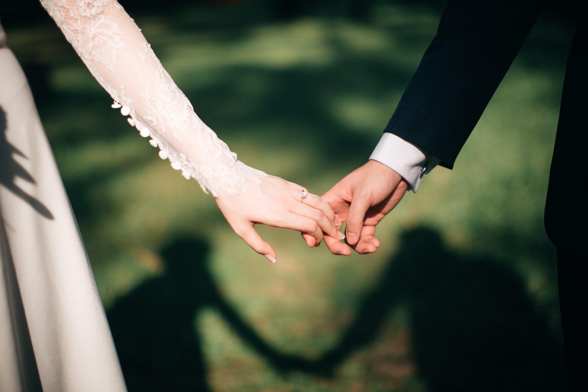 Catholic Bride and Groom