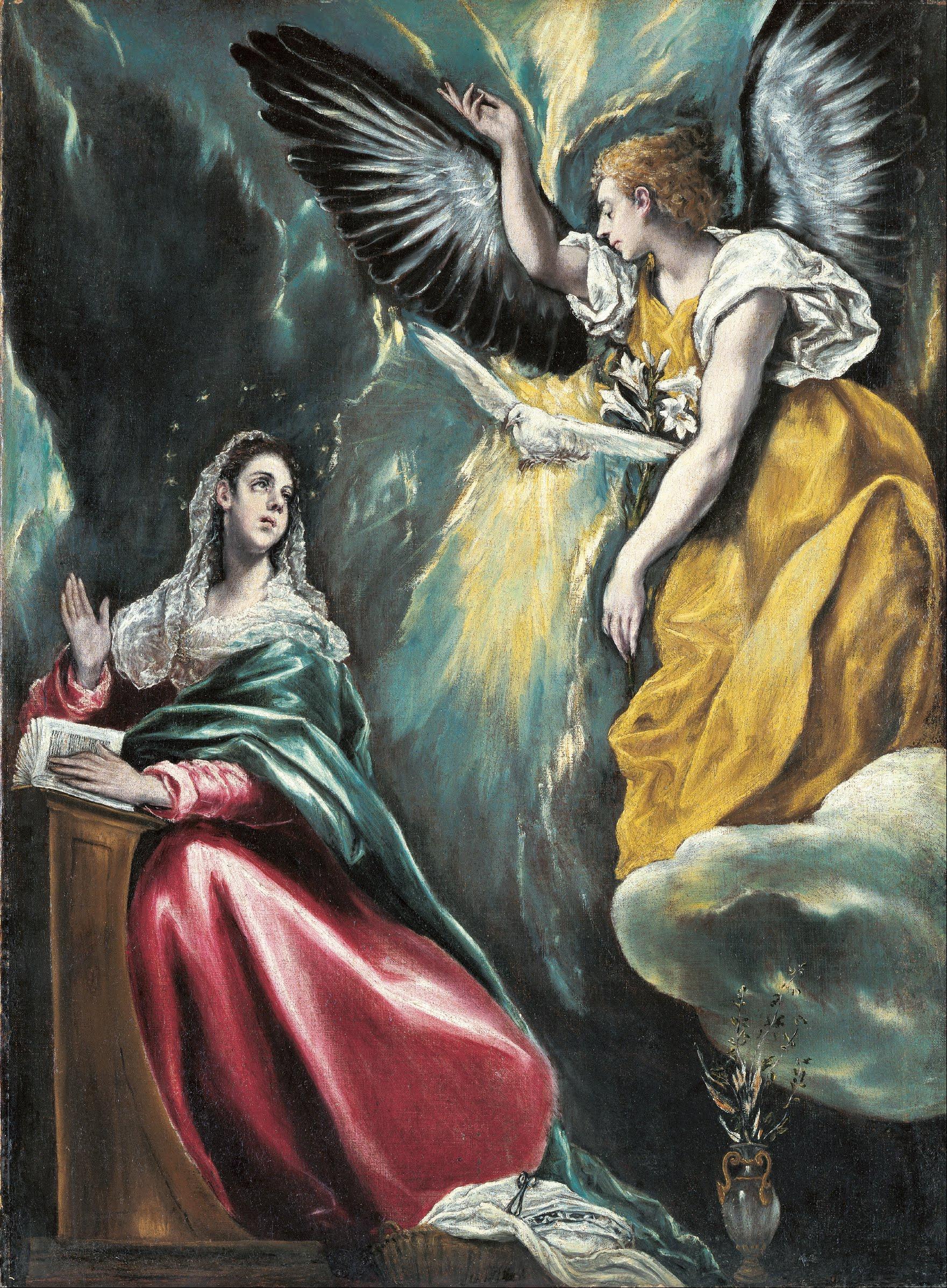 Th Annunciation | El Greco