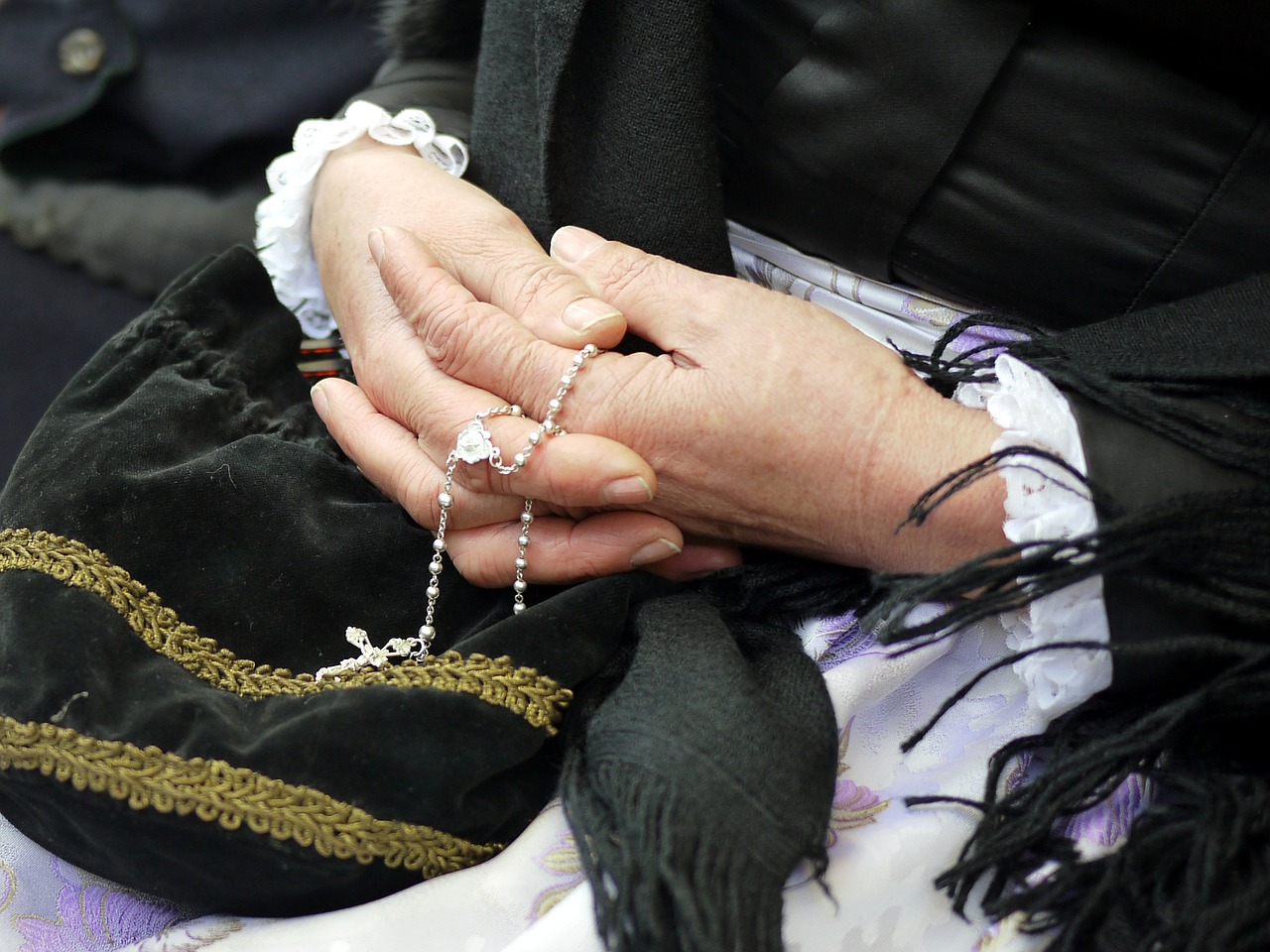 In Prayer with the Rosary