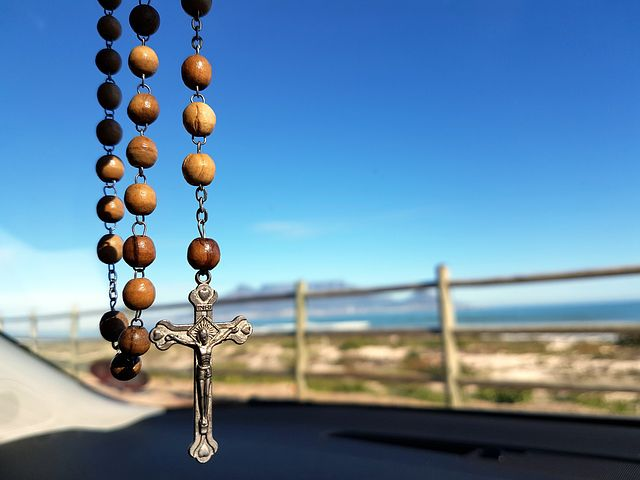 Hanging Rosary