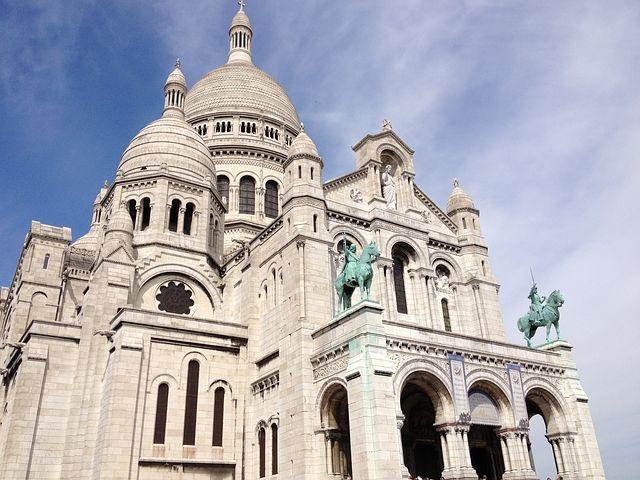 Details of Sacre Coeur Basilica