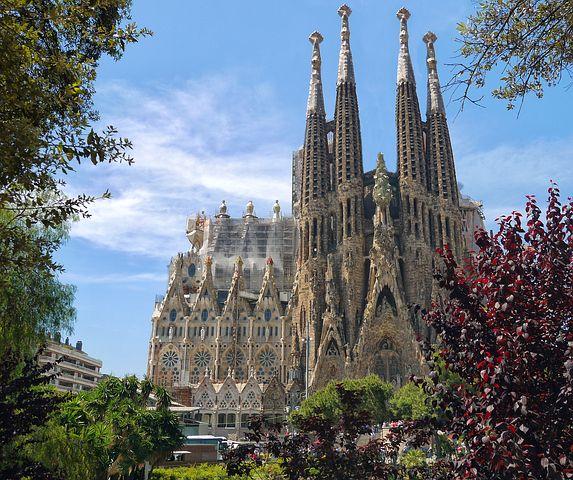La Sagrada Familia Basilica, Barcelona
