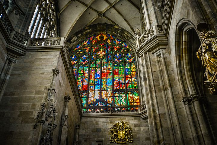 Stained Glass of St. Vitus Cathedral