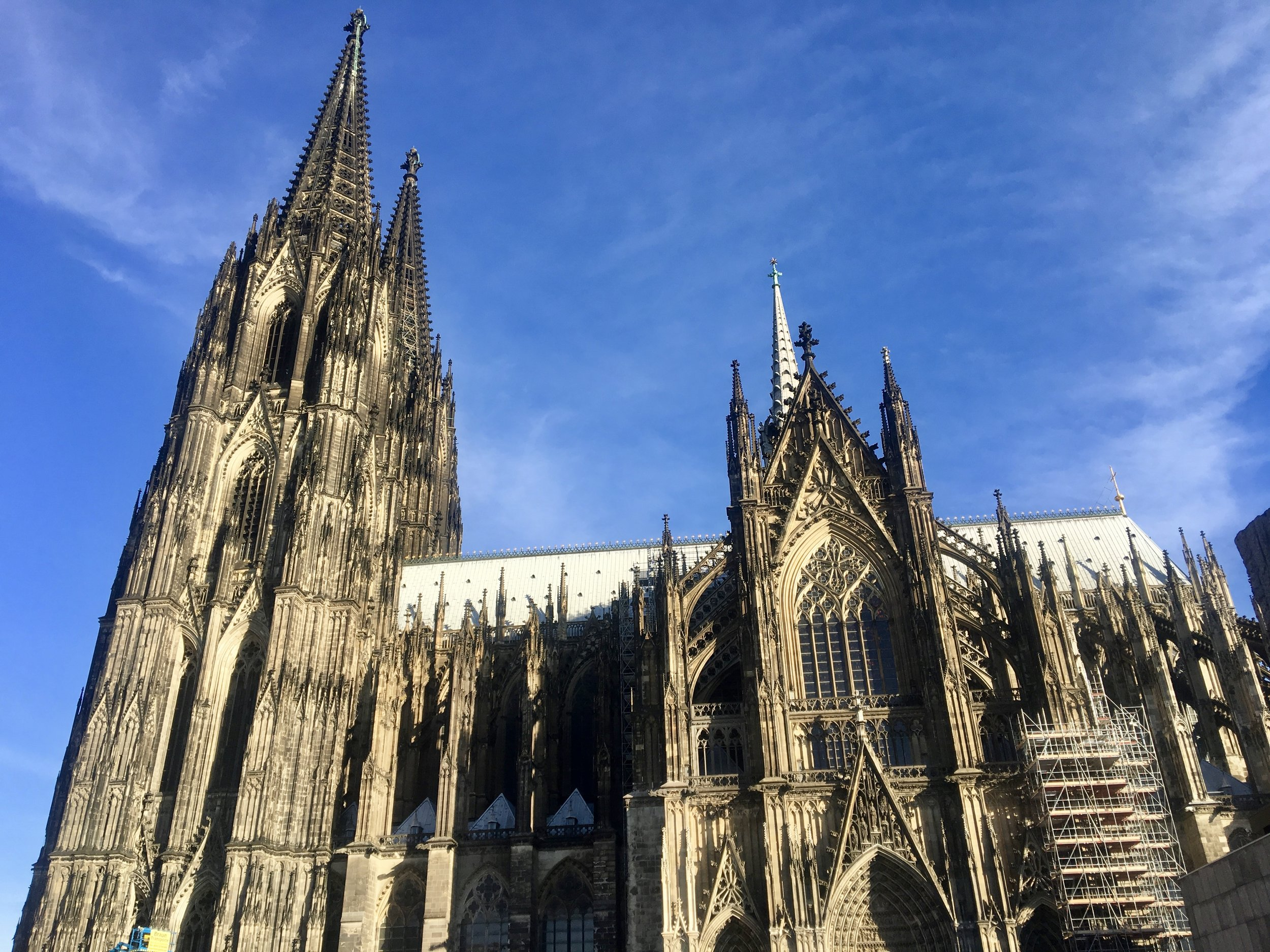 South Side of Cathedral of Cologne