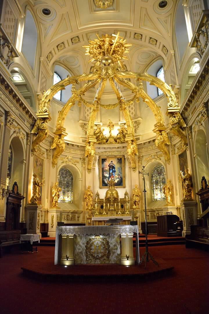 Altar of Cathedral-Basilica of Notre-Dame de Quebec