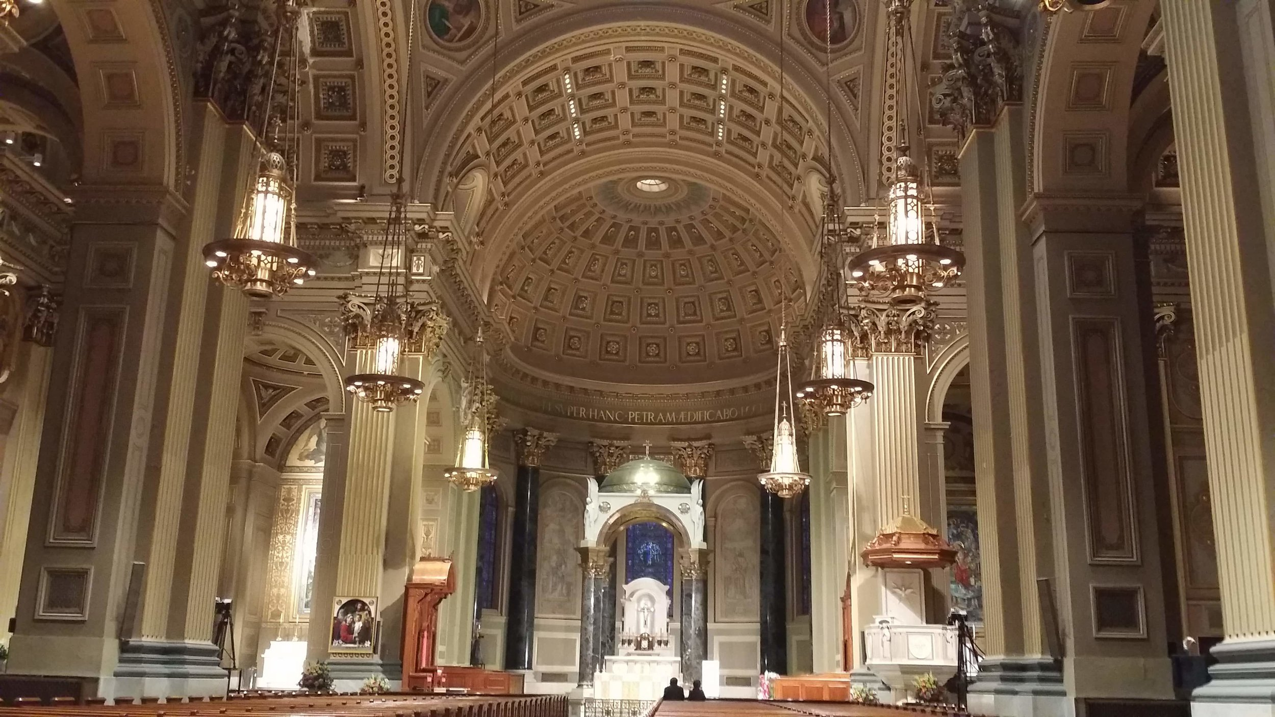 Interior of The Cathedral Basilica of Saints Peter and Paul, Philadelphia