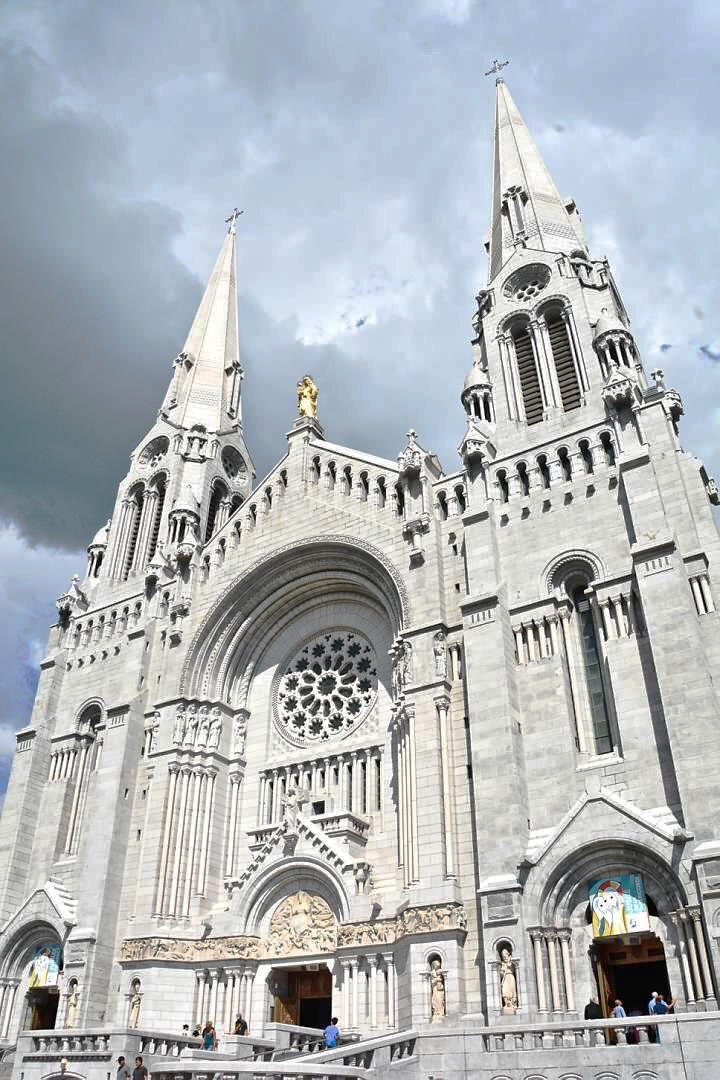 Basilica of Sainte-Anne-de-Beaupre, Quebec