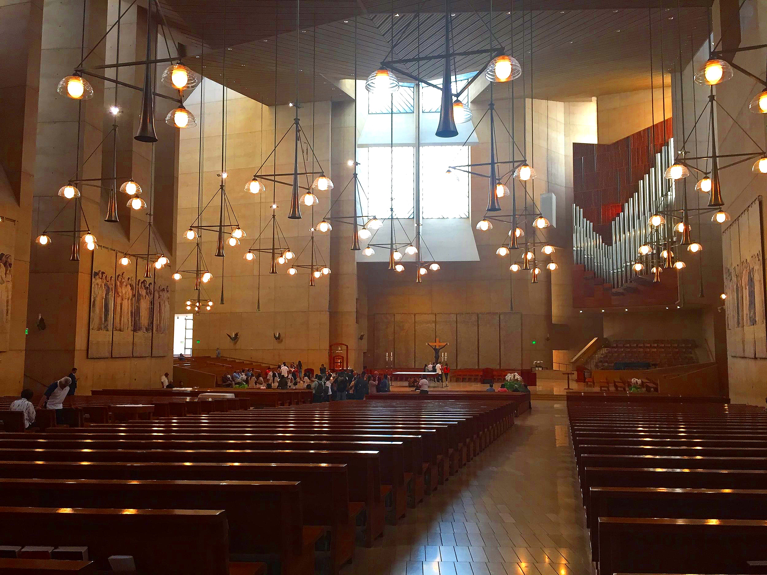 Interior Cathedral of Our Lady of the Angels, Los Angeles