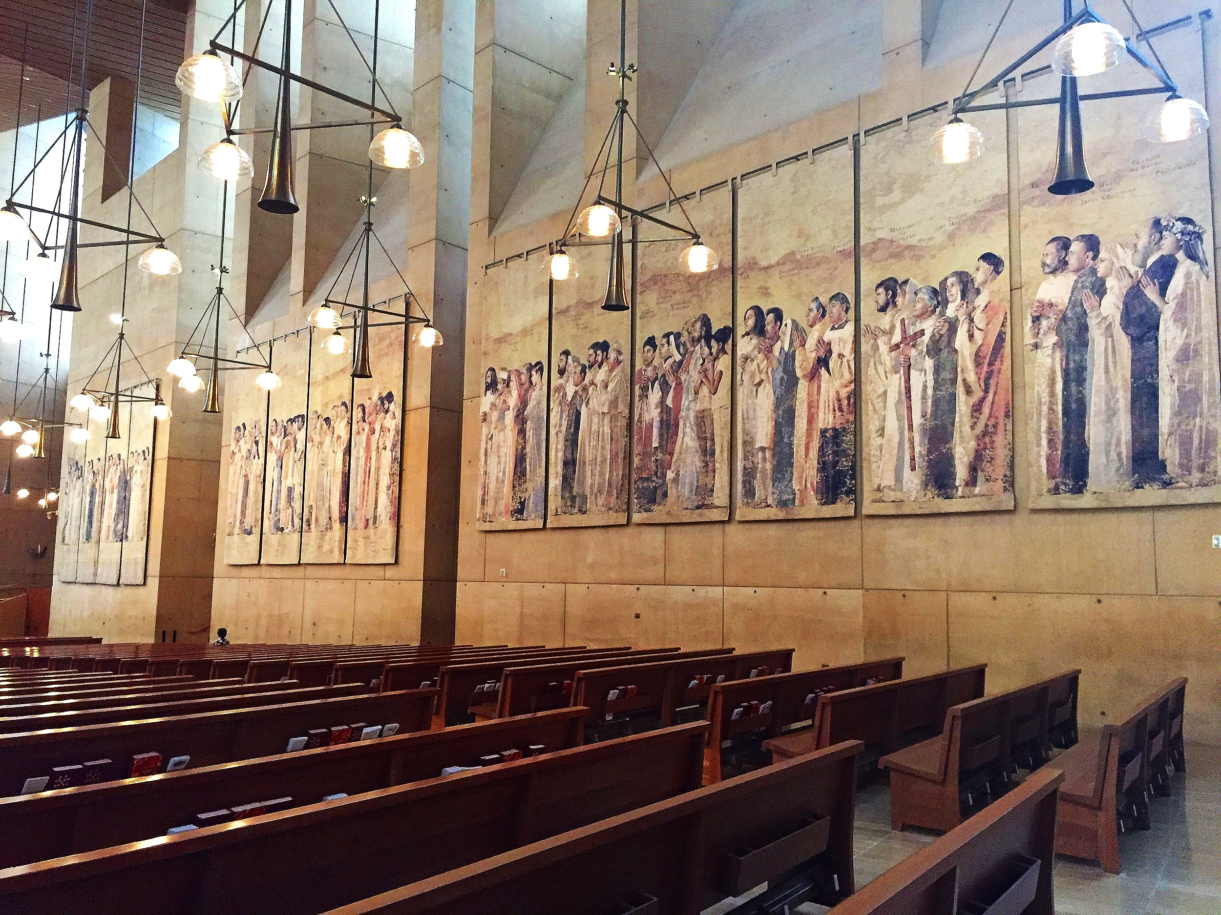 Wall Tapestries of Cathedral of Our Lady of the Angels