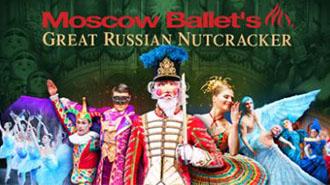 MOSCOW BALLET'S GREAT RUSSIAN NUTCRACKER   BALLET - HOLIDAY - WASHINGTON DC Price: $28 - $98