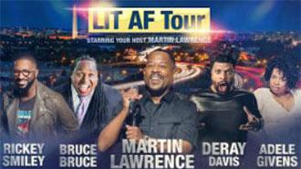 EventPost -  Martin Lawrence: LIT AF Tour