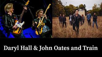 EventPost -  Daryl Hall & John Oates and Train