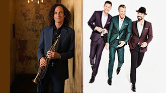 KENNY G & THE TENORS   MUSIC - WASHINGTON DC Price: $30 - $65