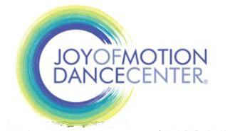 EventPost -JoyFest: Joy Of Motion Dance Festival