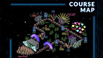 EventPost - Night Nation Run Course Map