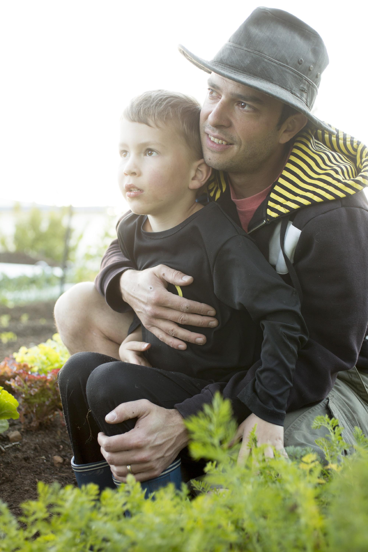 Giangi with Lukas